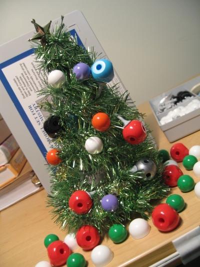 Organic Chemistry Christmas Tree